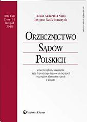 Orzecznictwo Sądów Polskich