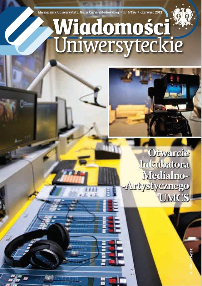 Wiadomości Uniwersyteckiego czerwiec 2013