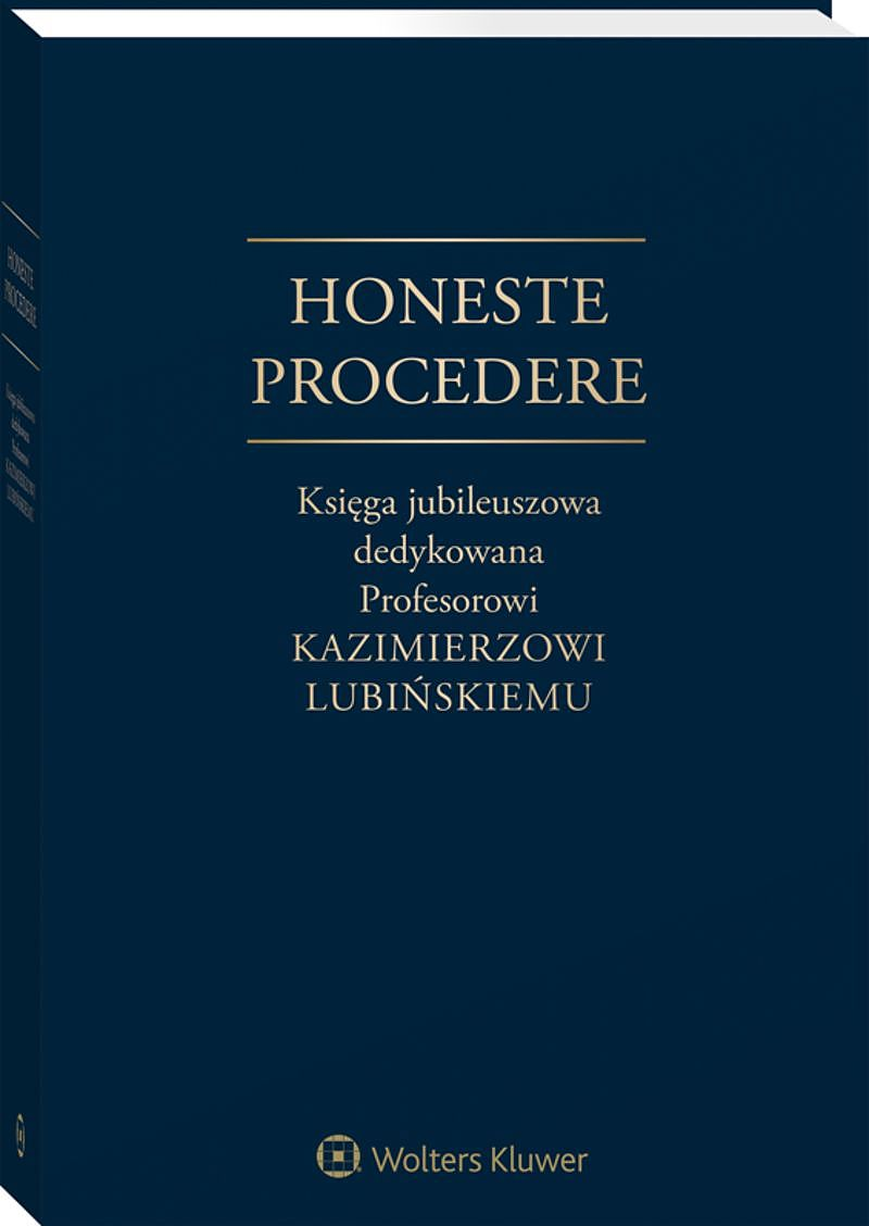 honeste-procedere-ksiega-jubileuszowa-kamierzowi-lubinskiemu