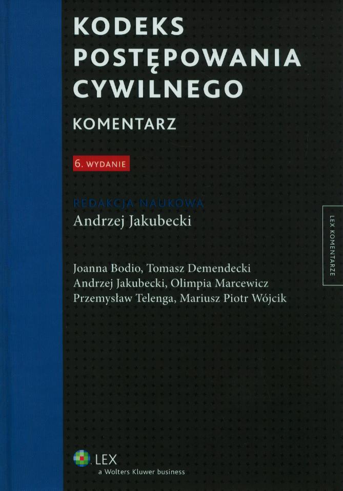 kodeks-postepowania-cywilnego-komentarz-wydanie-6