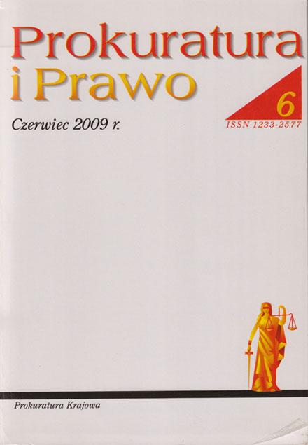 Prokuratura iPrawo nr6 zCzerwiec 2009