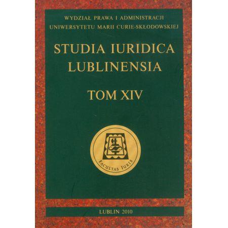 Studia Iuridica Lublinesia. Tom XIV