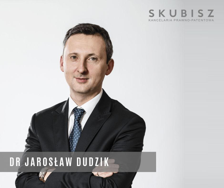 Dr Jarosław Dudzik