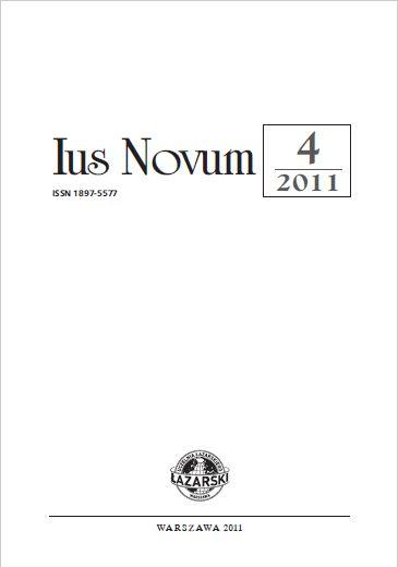 Ius Novum 4/2011