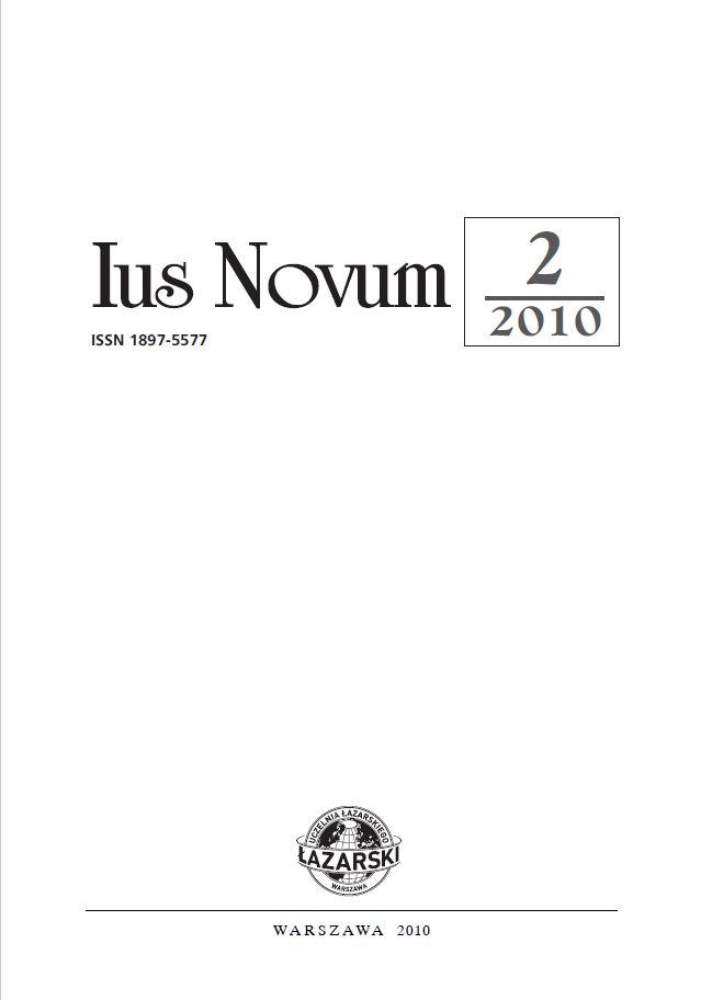 Ius Novum 2/2010
