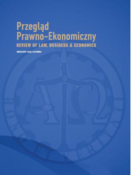 Przegląd Prawno-Ekonomiczny. Review of Law, Business & Economics