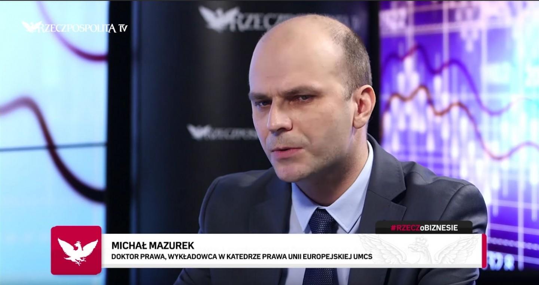 Michał Mazurek. Rzeczpospolita TV