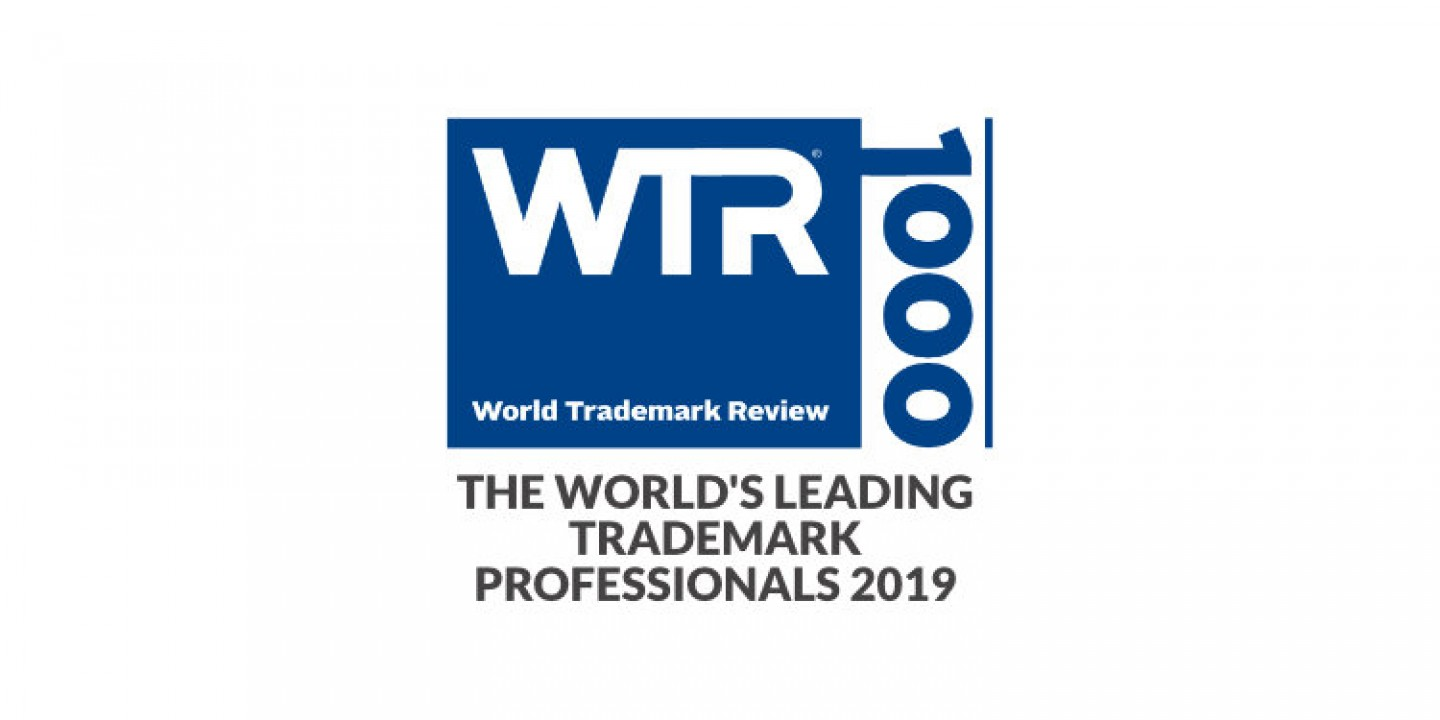 The World's Leading Trademark Professionals 2019 (WTR1000)